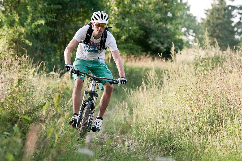 Mountainbiken im Haxtergrund